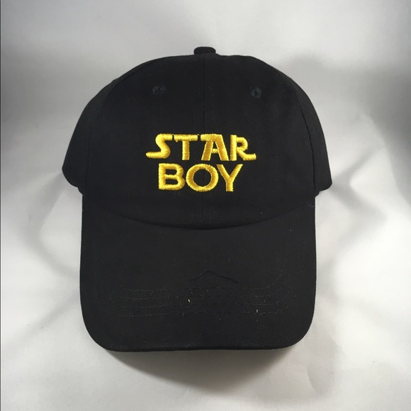 Starboy Dad Hat Custom HipHop Weekend inspired 1fb646ff52f7